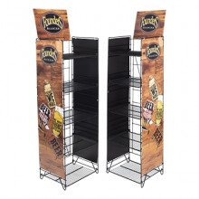 Case Display with Wire Rack