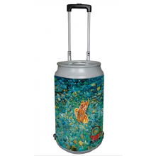 5 Gallon Rolling Can Cooler