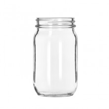 Mason Jar Glass 12 oz.