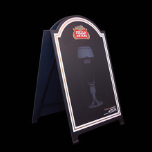 Rounded A-Frame Sign