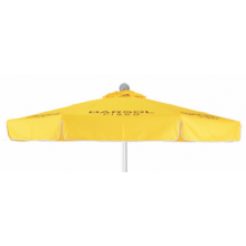 6ft Aluminum/Fiberglass Market Umbrella with Valence Domestic