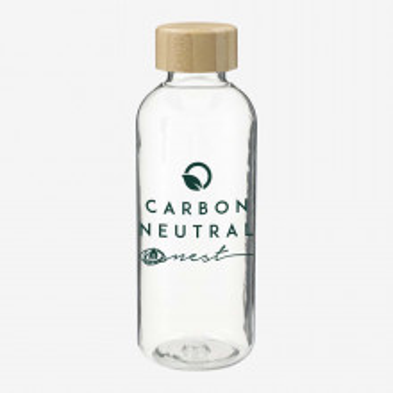 Sona 22oz RPET Reusable Bottle w/ FSC Bamboo Lid