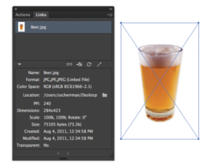 How to embed an image in Adobe Illustrator.
