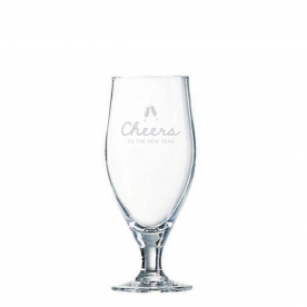 Arc Cervoise - Holiday Cheers glass 12.75 oz